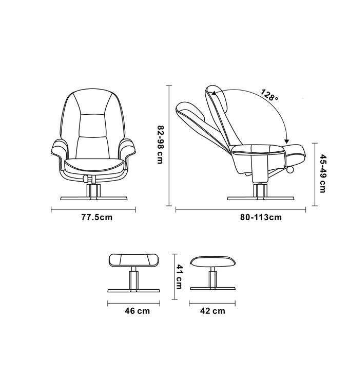 Microfiber Relaxation Chair - LOPHOS Home