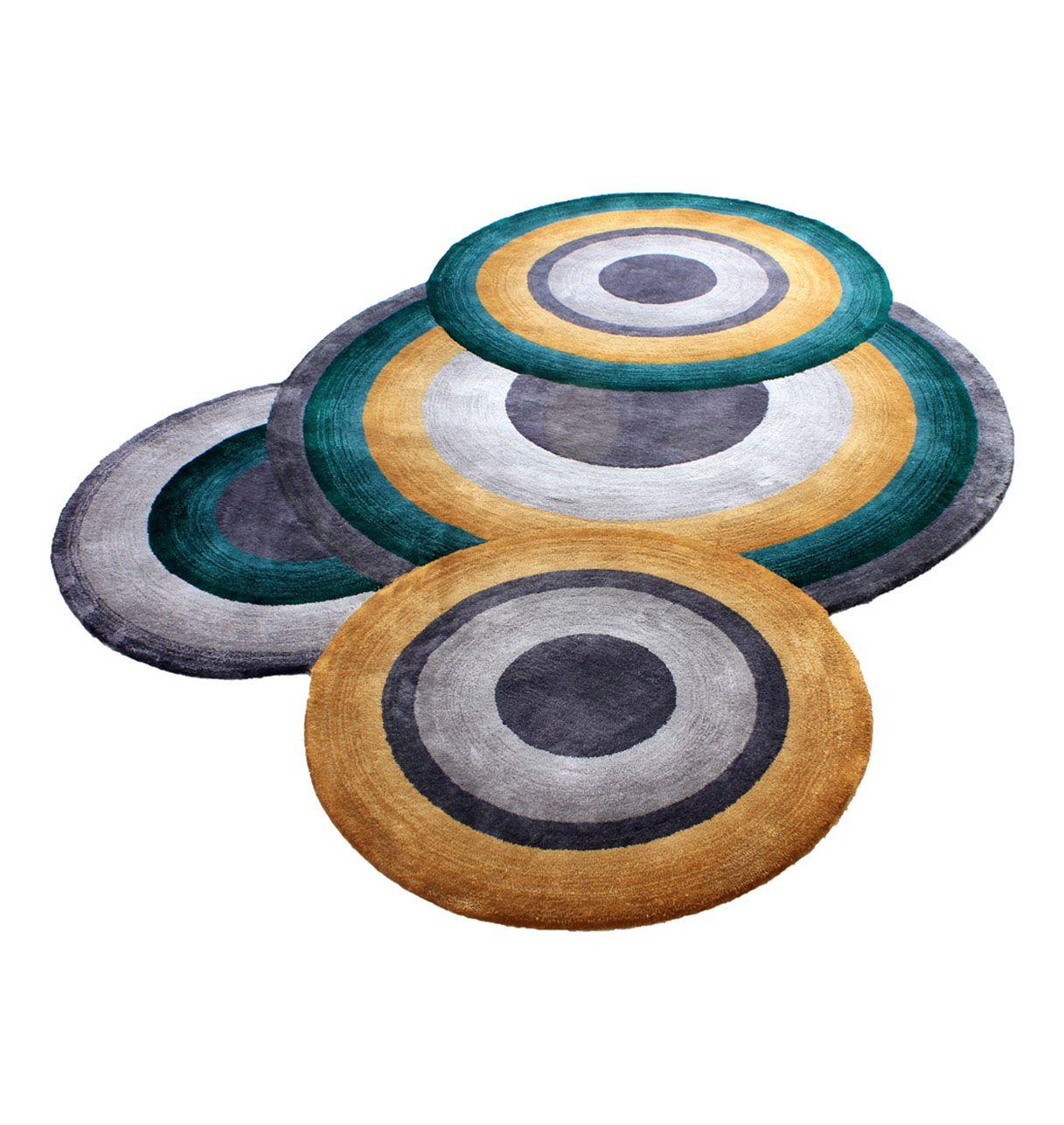 Tapis à motifs circulaires - Prelude